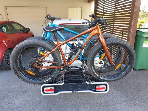 Vuokraa polkupyörän kuljetusteline Thule euroride 943