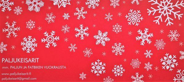 Paljukeisarit lahjakortti joulu etusivu