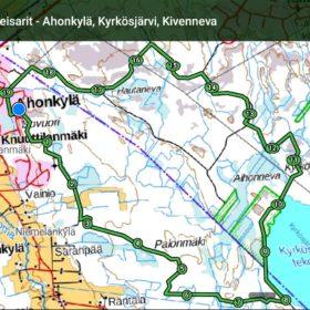 Paljukeisarit - Ahonkylä, Kyrkösjärvi, Kivenneva