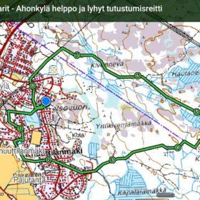 Paljukeisarit - Ahonkylä helppo ja lyhyt tutustumisreitti