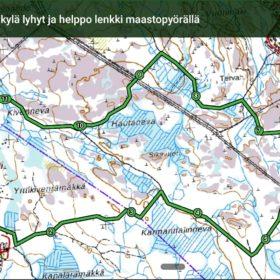 Paljukeisarit - Ahonkylä, lyhyt ja helppo lenkki maastopyörällä