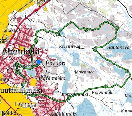 Pyöräreitit Seinäjoki Ilmajoki Ahonkylä